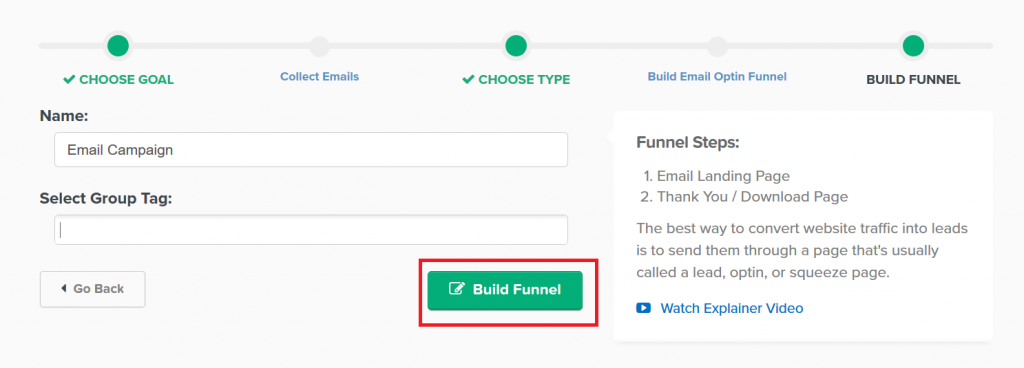 Steps how to use clickFunnels